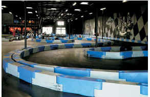 Go Kart Track Barriers - Scribner Plastics - Manufacturers of Utility Jugs, Funnels, Engine Shipping Cases, Transmission Shipping Cases and Other Racing Products