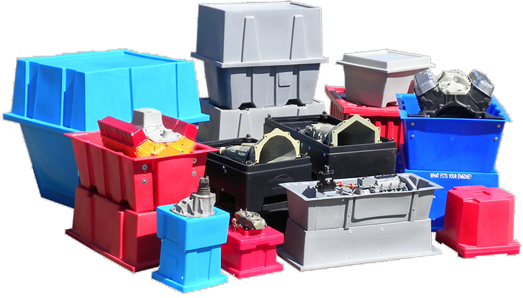 The Scribner Plastics shipping container family consists of 17 configurations of container solutions.