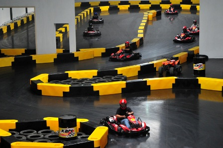 Go Kart Track Link Barrier Systems Installation Photo Gallery