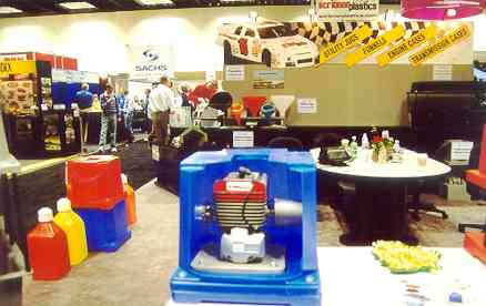 Scribner Plastics - Manufacturers of Utility Jugs, Funnels, Engine Shipping Cases, Transmission Shipping Cases and Other Racing Products